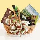 Cheers! :Gourmet Snack & Red Wine Gift Basket