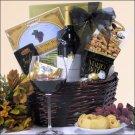 Mondavi Private Selection Merlot: Chocolate & Wine Gift Basket