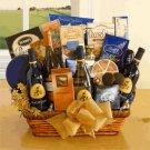 Wine Cellar Celebration:Gourmet Wine Gift Basket