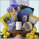 Cupcake Chardonnay: Gourmet & Wine Gift Basket