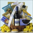 Dad's Day Off: Gourmet Wine Gift Basket
