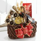 Irresistible : Chocolate & Sparkling Wine Gift Basket