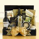 Fine and Fancy: Gourmet Snack & Wine Gift Basket