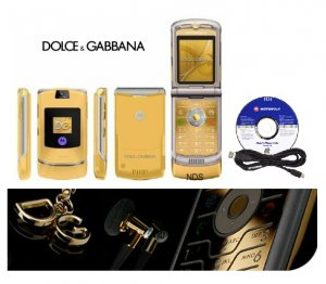 Dolce & Gabbana V3I Mobile Cellular Phone