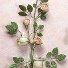 Rose Blossom Sconces