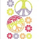 Instant Expressions Groovy Girls Mural LW35008