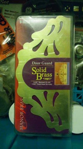 New  Door guards Solid Brass Prime Line U10290 pack of 2