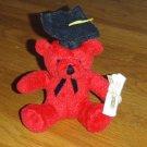Red Graduate Bear - Graduate Gift!