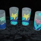 Sun Country Frosted Highball Glasses 4 pc Set