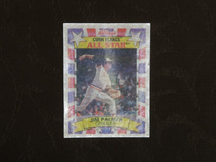 Jim Palmer Baseball Card Kelloggs Hologram