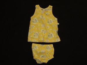 Dress & Shorts Set  ( 6/9 Months )