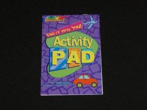 RoseArt Activity Pad + 2  Activity Books