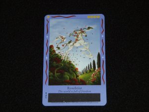 Bella Sara Card - Magical Friends Series:  Rosebriar (27/86)