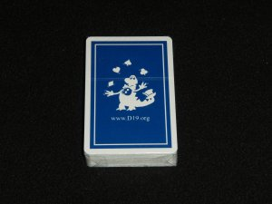 """D19"" Playing Cards (Made in USA)"