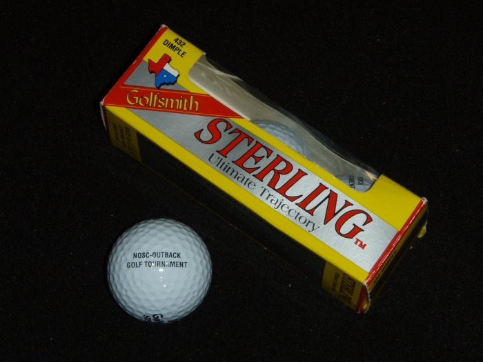 Outback Imprint Sterling Ultimate Trajectory Golf Balls (Made in USA)