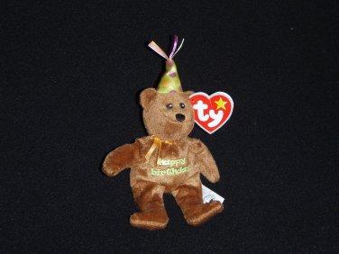 Celebration the Bear Ty Teenie Beanie Toy