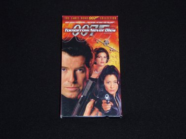Tomorrow Never Dies James Bond 007 VHS Movie