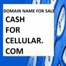 Domain name for sale CASHFORCELLULAR.COM  (Read Info)
