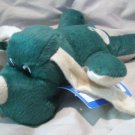 Paws N Claws Plush Squeak Green Dog Toy