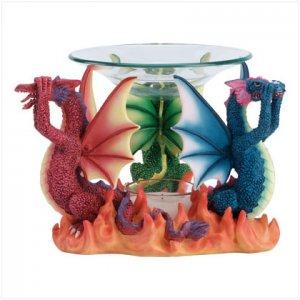 No Evil Dragons Oil Warmer