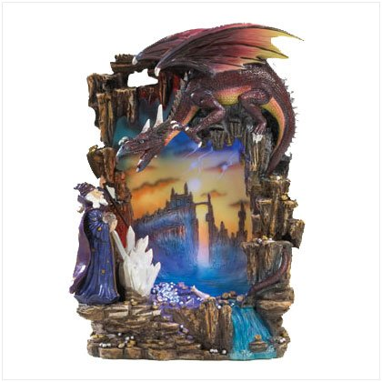 Merlin's Dragon Night Light