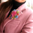 Pink Tones Romantic Brooch