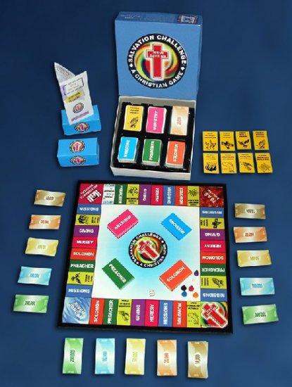 Salvation Challenge Bible Board Game