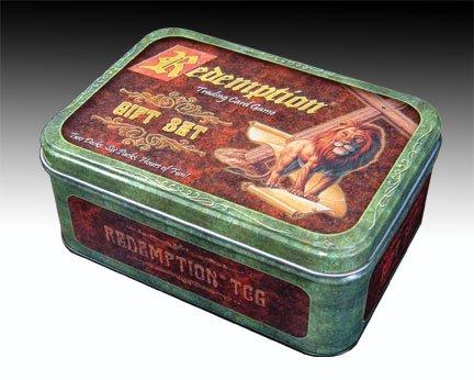 Redemption Gift Set Tin  Lion Lid