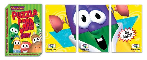 VeggieTales Puzzle Card Game