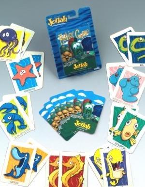 VeggieTales Jonah-Fishin' Card Game