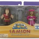 Samson and Delilah Playset
