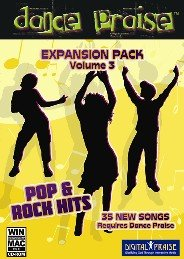Dance Praise Expansion Pack Vol 3 Christian Pop/Rock