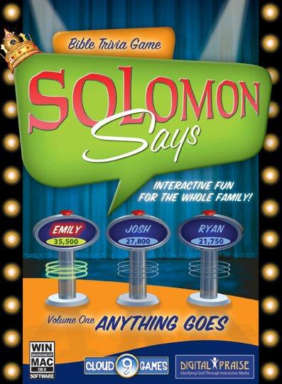 Solomon Says Bible Trivia - Volume 1