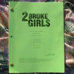 2 BROKE GIRLS Script Aired December 17, 2012 - NEW
