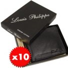 10 x Louis Philippe Leather Wallets