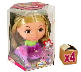 4 x My Model Junior Make Up Dolls