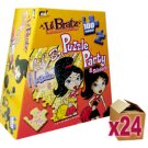 24 x Lil' Bratz 100 Piece Puzzle Party & Stickers