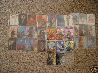 57 C. Achilleos Cards and 8 Lady Death Chromium Cards
