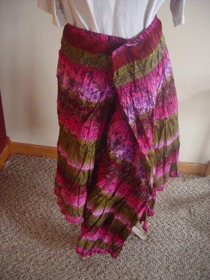 Purple fabric for skirt