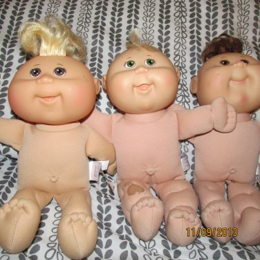 3 Cabbage Patch Kids Set  A