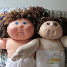 2 Cabbage Patch type dolls Set D