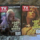 Set of 2 Lord of The Rings Hologram TV Guides