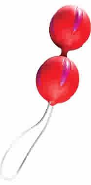 Smartballs (Magenta Red) Orgasm Balls - FUN36303