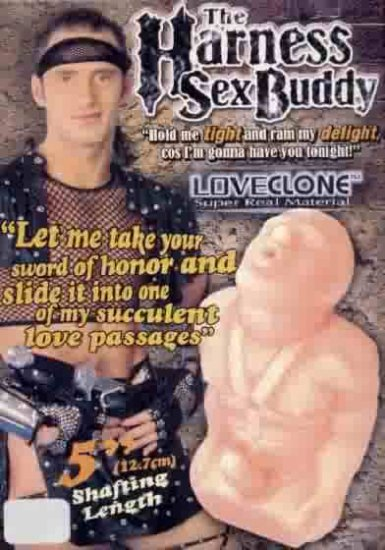 Harness Sex Buddy 2 Hole Male Sex Doll