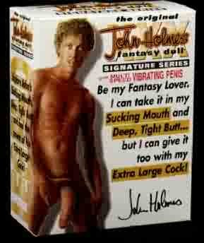 John Holmes Fantasy Doll - Vibrating 2 Hole Male Sex Doll
