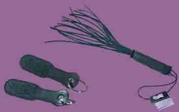 Mini Paddle Keychain Black