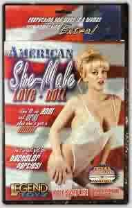 American She Male Love Doll