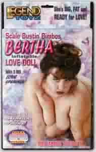 Bertha Inflatable Sex Doll