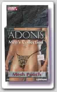 Leopard Mesh Pouch G- String