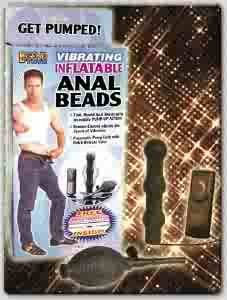 Inflatable Anal Beads Vibrating